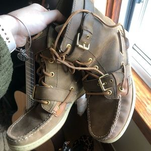 High Top Sperry Shoes